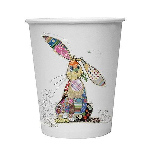 BUG ART  BINKY BUNNY  8 X 9oz BIODEGRADABLE CUPS, Min Qty: 12