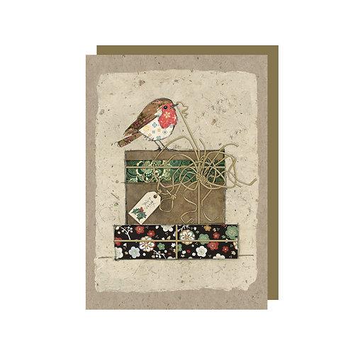 BUG ART ROBIN MINI CARD, Min Qty: 12