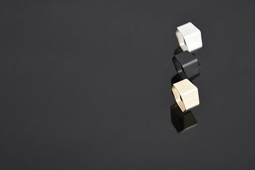 Hex Ring (Matte Black)