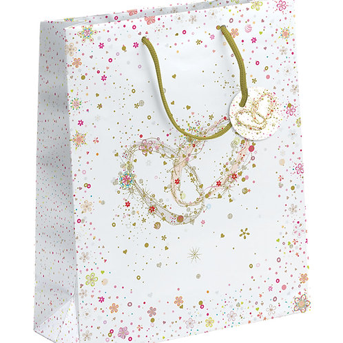 TURNOWSKY WEDDING TWIN RINGS XL GIFT BAG