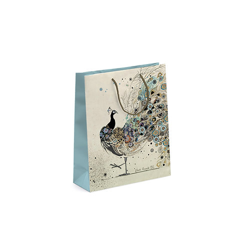 BUG ART PEACOCK PERFUME GIFT BAG, Min Qty: 6