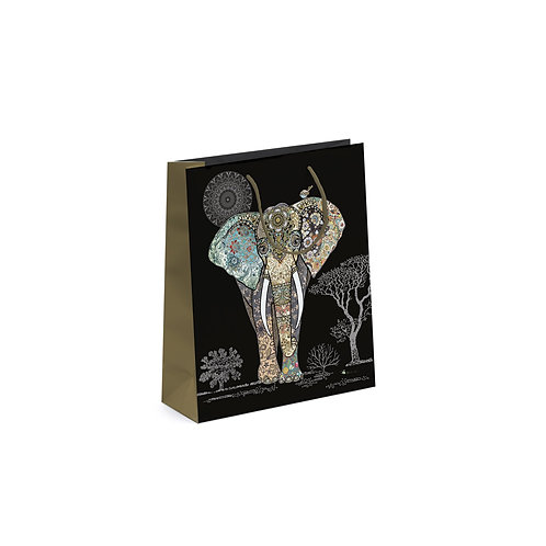 BUG ART ELEPHANT PERFUME GIFT BAG, Min Qty: 6