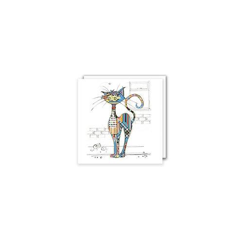 BUG ART COLA CAT  MINI CARD, Min Qty: 12