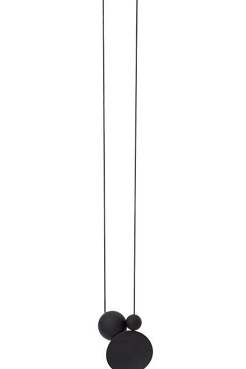 21509 MBK Dot & Orbs Matte Black