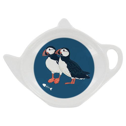 PEONY PUFFIN TEA BAG TIDY, Min Qty: 12