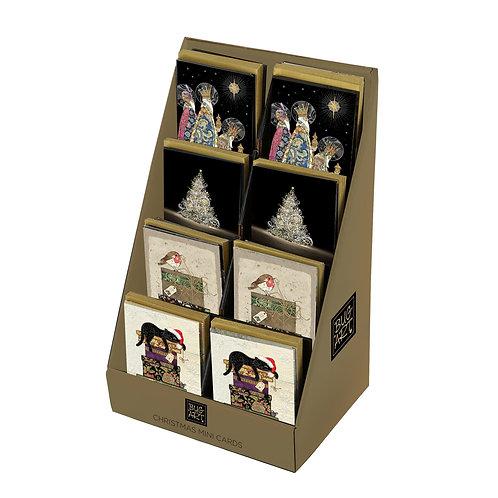 BUG ART 4 ASSTD MINI CARDS IN DISPLAY, Min Qty: 96