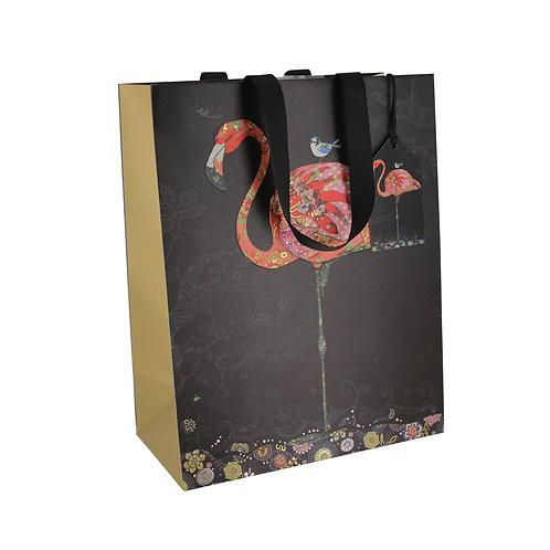 BUG ART PINK FLAMINGO LGE GIFT BAG, Min Qty: 6
