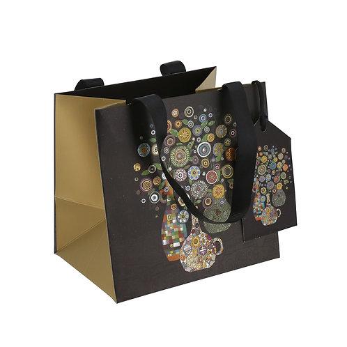 BUG ART VASE OF FLOWERS PERFUME GIFT BAG , Min Qty: 6