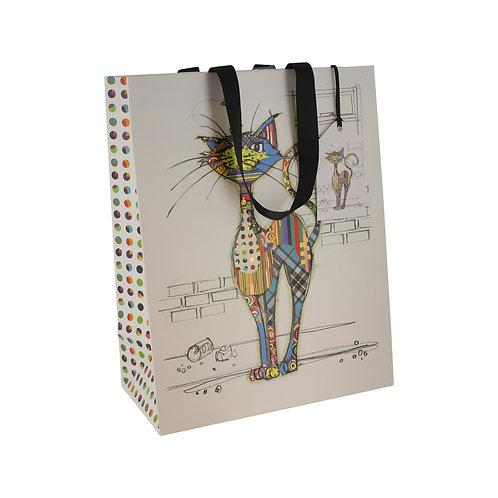BUG ART COLA CAT LGE GIFT BAG, Min Qty: 6