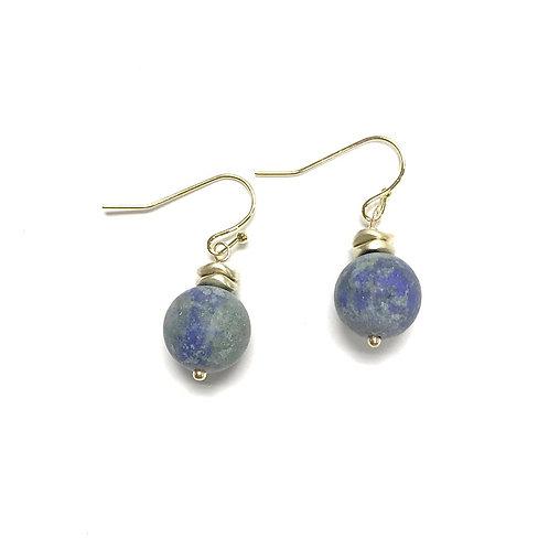 Azonite earring