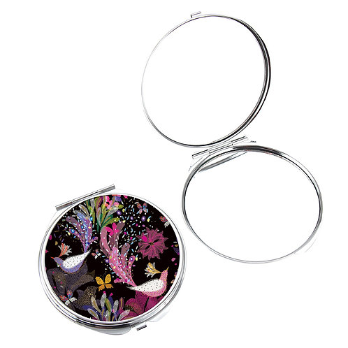 TURNOWSKY BIRDS OF PARADISE COMPACT MIRROR IN BOX IN DISP