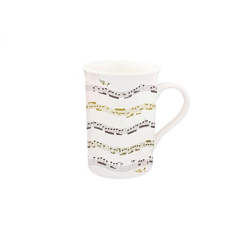 DAVINCI MUSIC NOTE MUG , Min Qty: 3