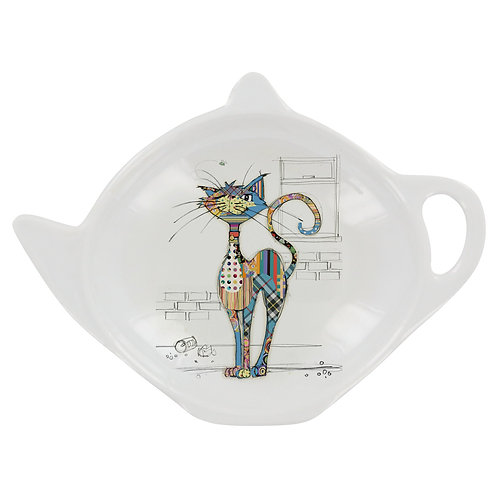 BUG ART COLA CAT TEA BAG TIDY, Min Qty: 12