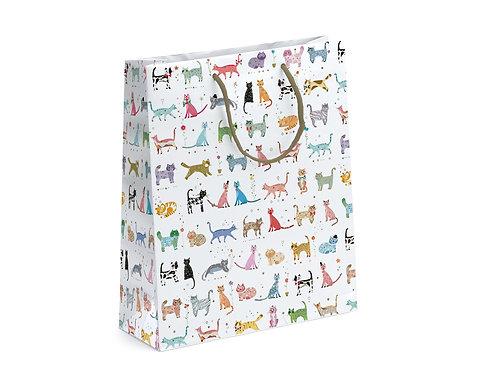TURNOWSKY NEW CAT LGE GIFT BAG