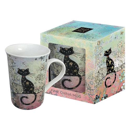 BUG ART CAT MUG IN BOX, Min Qty: 3