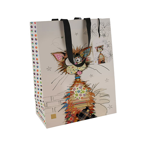 BUG ART KRAZY CAT LGE GIFT BAG, Min Qty: 6