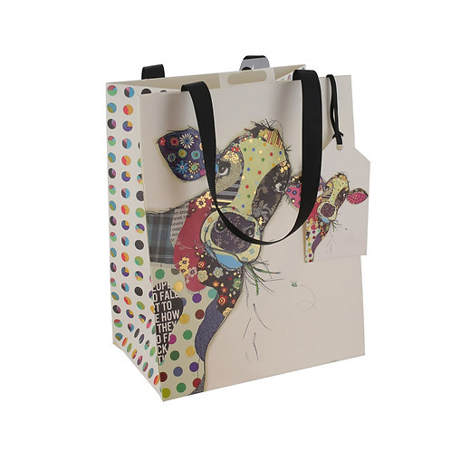 BUG ART CONNIE COW MED GIFT BAG, Min Qty: 6