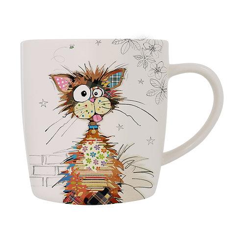 BUG ART KRAZY CAT MUG, Min Qty: 3