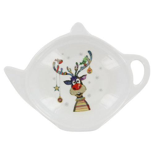 BUG ART RUDOLPH TEA BAG TIDY, Min Qty: 12
