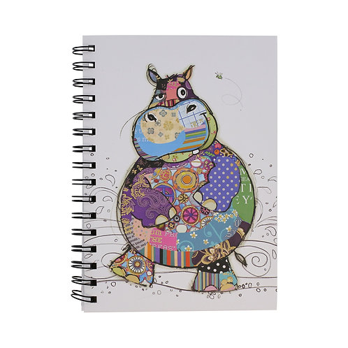 BUG ART A5 HARRY HIPPO NOTEBOOK, Min Qty: 6