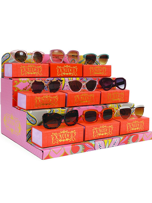 Sunglasses Stand (min order $150 sungls)