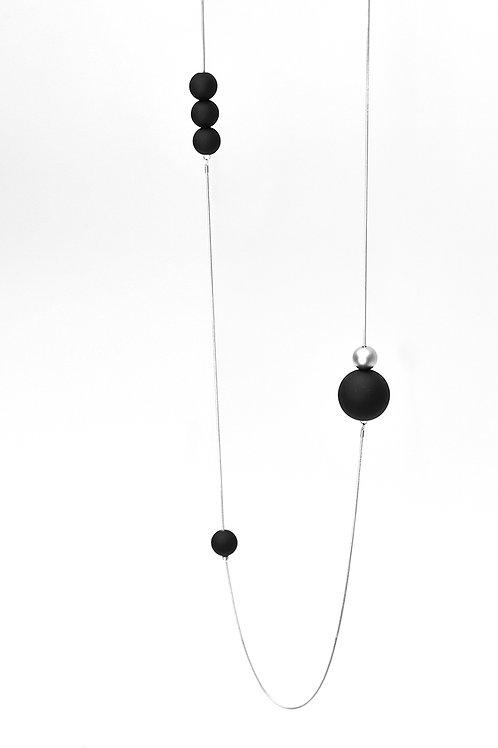 21511 SB Bubbles Silver Black