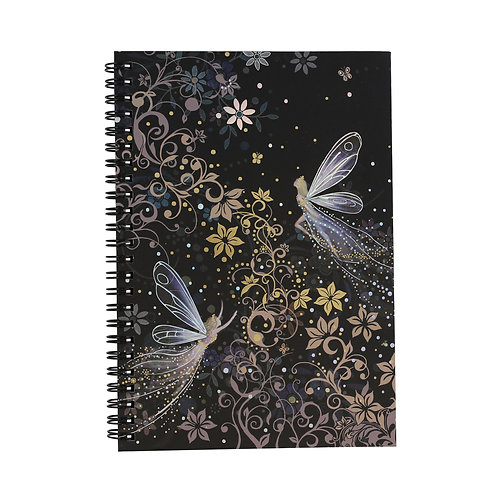 BUG ART FAIRY A5 NOTEBOOK, Min Qty: 6