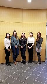 University of Calgary PBSC students posing
