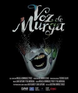 """Cartel largometraje """"Voz de Murga"""""""