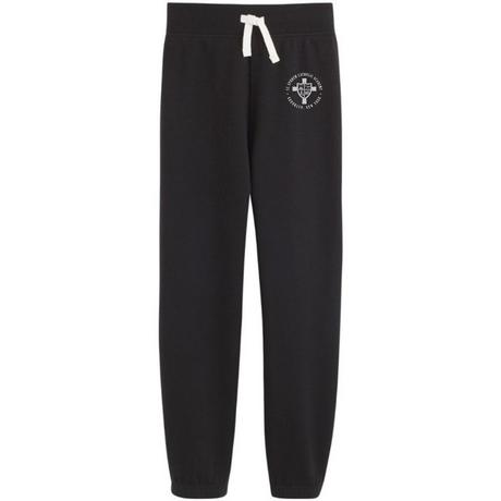 Navy Sweatpants with logo