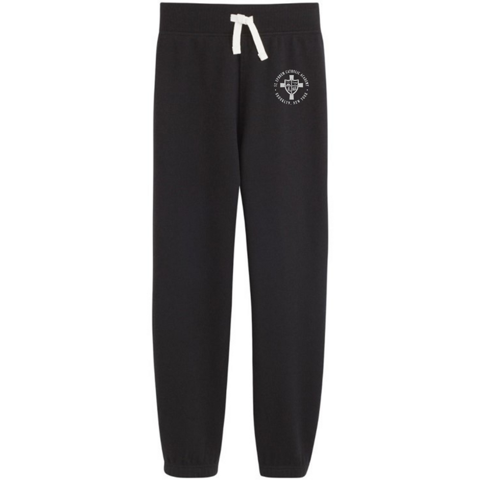 Navy Sweatpants with logo