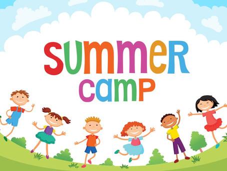 Summer Camp Registration begins May 3rd