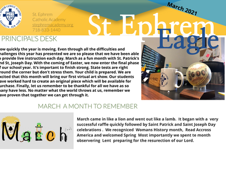March Issue of The Eagle is here!