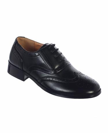 Black no scuff shoes
