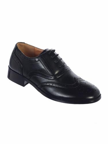 Black scuff free shoes
