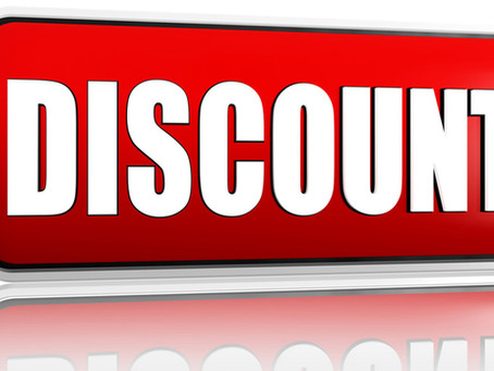 1% discount on tuition now through May 23rd