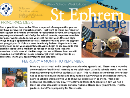 February 2021 Issue of the Eagle
