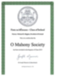 Clans of Ireland 2019 O Mahony Society M