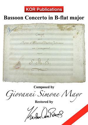 Mayr, Bassoon Concerto in B-flat Major C