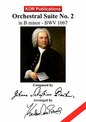 Bach, Orchestral Suite no. 2 COVER (img)