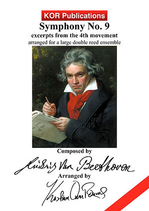 Beethoven, Symphony no. 9, 4th mov COVER