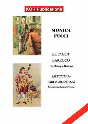 Monica Fucci, The Baroque Bassoon COVER