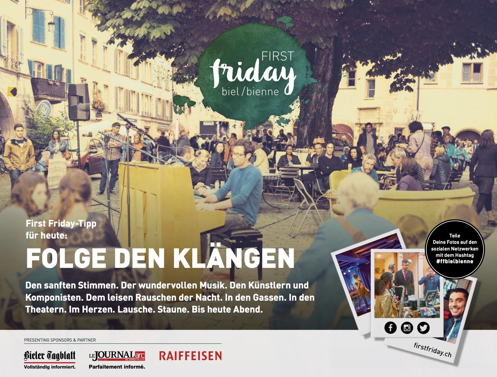 First Friday Biel/Bienne