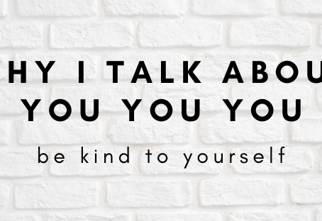 Why I talk about you you you