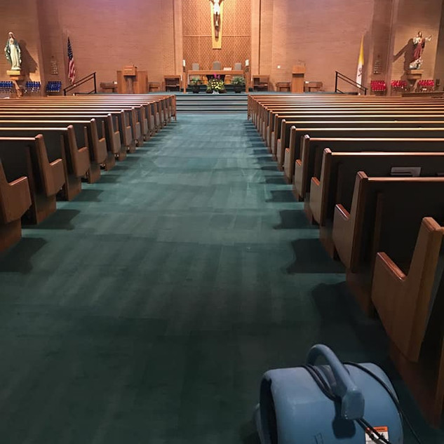 St. Anthony Catholic Church - carpet and upholstery cleaning in Wylie, TX