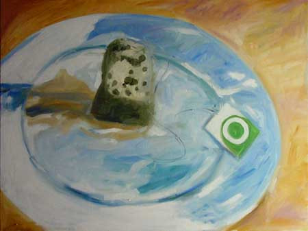Break Fast Art (Oils)