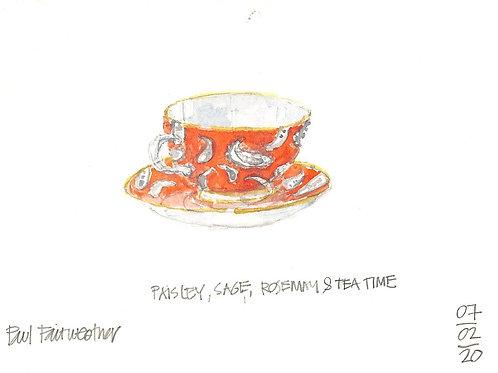 Paisley, Sage, Rosemary & TeaTime?