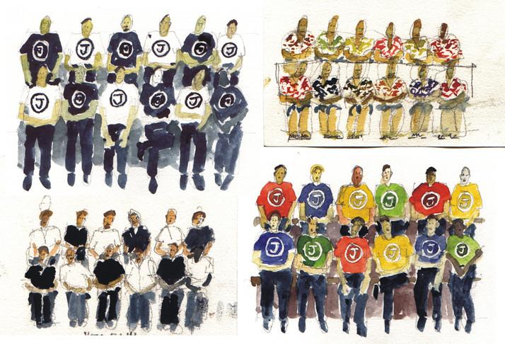 Team paintings 12 may 2002