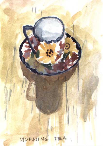 Break Fast Art (Water Colours)
