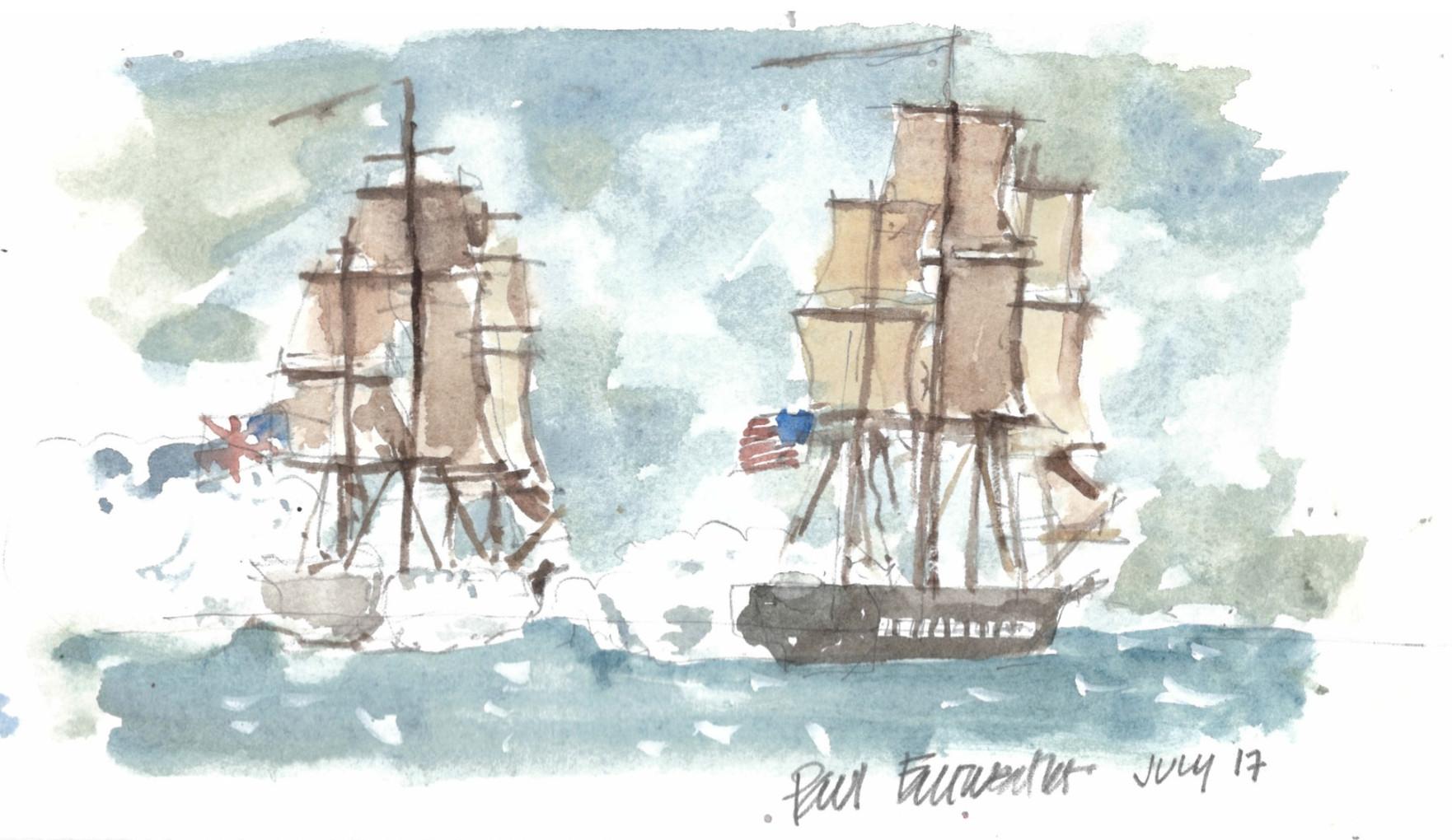 Sailing ships - July 2017